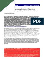 20 Juli Gedenken Opfer Deutscher Wider Stand