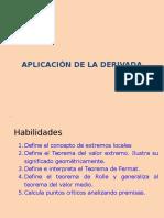 Aplicacion de La Derivada i