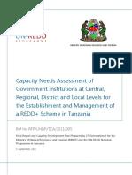 Tanzania CNA REDD - Final Report