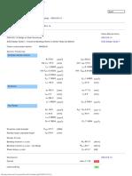 Crane Runway Beam Design - Beam Section Check Using CSA S16-14 Code-3