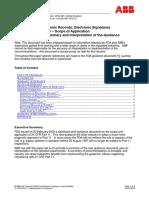 21 CFR Part 11 Interpretation of Guidance