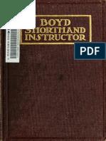 Boyd Shorthand