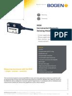 Bogen Technical Data Sheet IKS8 Rev 1 0
