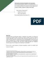 Análise Tipográfica e de Conteúdo da Editoria Economia dos Jornais Impressos O Estado De São Paulo, O Globo, O Liberal e Folha De São Paulo
