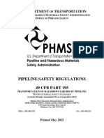 PHMSA SafetyRegulations2015 Part 193