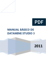 Manual Básico de Studio  3 DATAMINE 2016