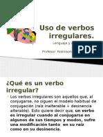 02 - 6° Año - Lenguaje y comunicación - Uso de verbos irregulares [17-04-2017]