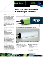 JVL MAC 140-141W Motors in Watertight Versions