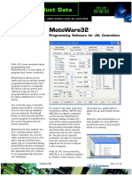 JVL MotoWare32 Programming Software for JVL Controllers