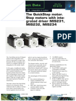 JVL The QuickStep Motor with Integrated Driver MIS231, MIS232 and MIS234