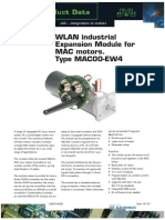 JVL WLAN Industrial Expansion Module for MAC Motors. Type MAC00-EW4
