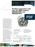 JVL Profibus Expansion Modules MAC00-FP2 and MAC00-FP4