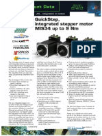 JVL QuickStep Integrated Stepper Motor MIS34 up to 9 Nm