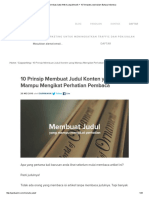 10 Cara Membuat Judul Artikel yang Menarik + 10 Template Judul dalam Bahasa Indonesia