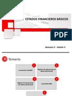 Cp38 - Sesión 3 - Estados Financieros Básicos