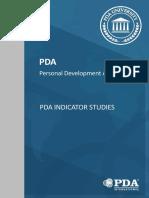 PDA Indicators Studies En