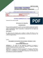 411-2002 Reglamento de Rastros