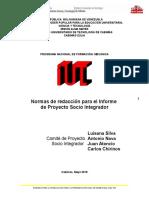 Normas de redaccion  para los PSI.doc