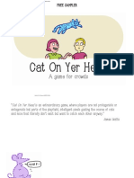 Cat on Yer Head Storybook by Playniac Free Sampler