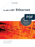 Essential Guide to Carrier Ethernet Networks