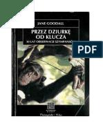 Goodall Jane - Przez Dziurkę Od Klucza
