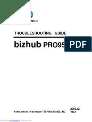 Bizhub Pro950 | Office Equipment | Printing