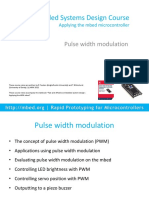 03 Mbed Course Notes - Pulse Width Modulation