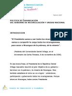Politica de Comunicacion Gob Recon y Unid Nacional 26 Feb 2007-1 (1)