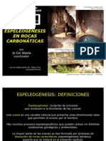 Espeleogenesis