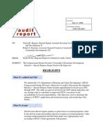 HUD Inspector General Report 2006