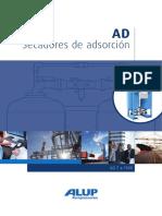 Alup Adsorption Dryer AD 7-1300 Leaflet ES 6999640001