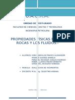 INFORME PROPIEDADES DE LAS ROCAS Y LOS FLUIDOS.docx