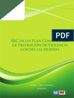 Plan Comunitario de Prevención de Violencia Contra Las Mujeres