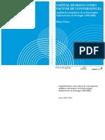 LIBRO_ CAPITAL HUMANO como factor de convergencia Analisis Econometrico de la Euroregion Galicia-Norte de Portugal (1995-2002)_Elvira Vieira.pdf