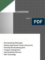 Merchandising Notes