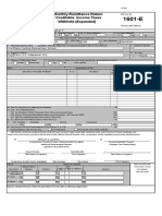 BIR Form 1601-E