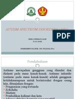 Ppt Autism Riska