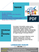 Kebijakan Program Imunisasi 2017
