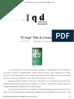 _El Okapi_ Pilar de Lusarreta _ Libros Que Desesperan_ Catálogo - Bolivia
