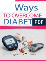 6 Ways to Overcame Diabetes