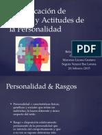 Identificación de Rasgos y Actitudes de La Personalidad