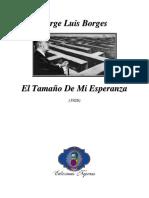 Borges 1926 - El Tamaño de Mi Esperanza (Ensayo)