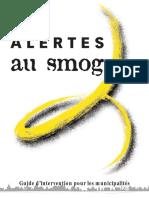 Les Alertes au Smog