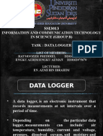 Slide Data Log