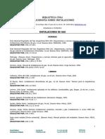 Bibliografia Sobre Instalaciones de Gas