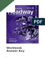 Am Headway 4 Workbook Answer Key