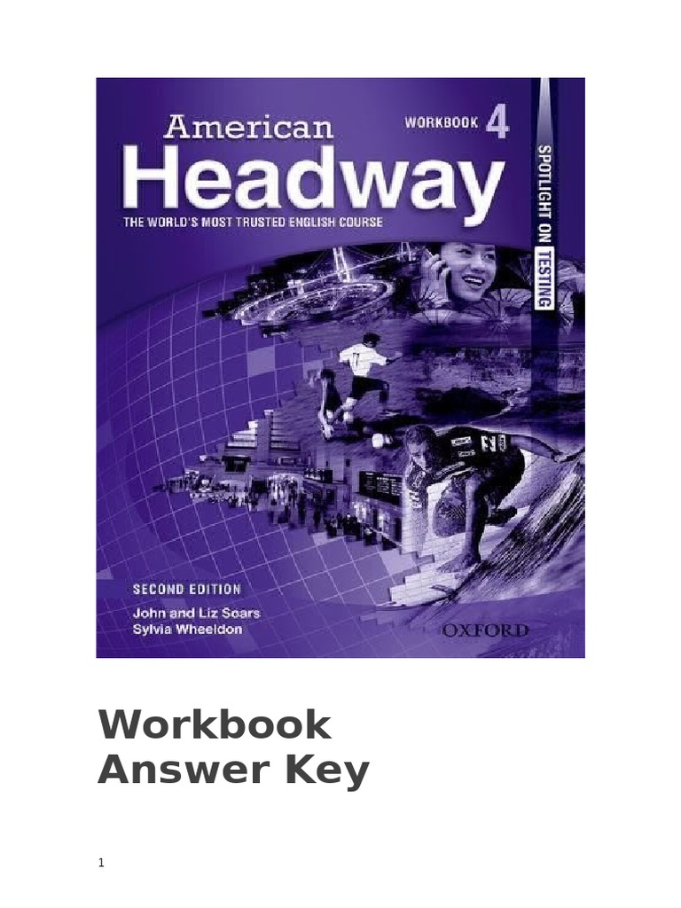 Workbooks spanish three workbook answers : Am Headway 4 Workbook Answer Key | Taxes | Transport