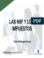 Las Niif y Los Impuestos