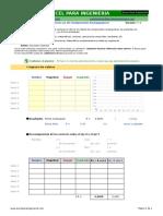 Suma y Resta de Vectores en 2D (Componentes Rectangulares)