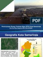 Perencanaan Ruang Terbuka Hijau (RTH) Kota Samarinda